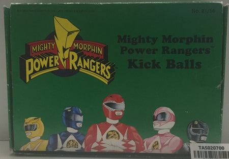 (TAS020700) - Bandai Mighty Morphin Power Rangers - Kick Balls, , ball, Power Rangers, The Angry Spider Vintage Toys & Collectibles Store  - 1