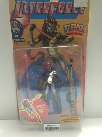 (TAS020715) - 1995 Galoob - Ultraforce Female Ultra Hero - Topaz #8, , Action Figure, Galoob, The Angry Spider Vintage Toys & Collectibles Store  - 1