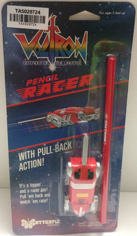 (TAS020724) - Voltron Defender of the Universe Pencil Racer Pull Back Action, , Pencils, Voltron, The Angry Spider Vintage Toys & Collectibles Store  - 1