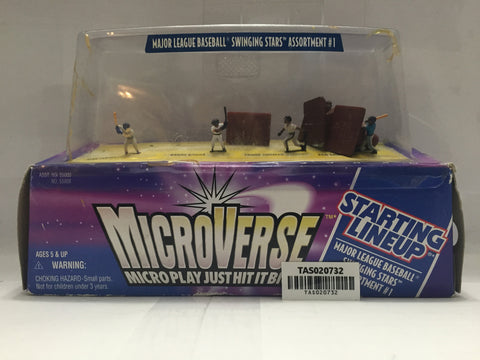 (TAS020732) - Starting Lineup MicroVerse MLB Action Figures - Barry Bonds, , Action Figure, MLB, The Angry Spider Vintage Toys & Collectibles Store  - 1