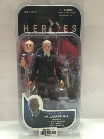 (TAS020735) - Mezco NBC - Heroes Series 2 - Mr. Linderman, , Action Figure, n/a, The Angry Spider Vintage Toys & Collectibles Store  - 1