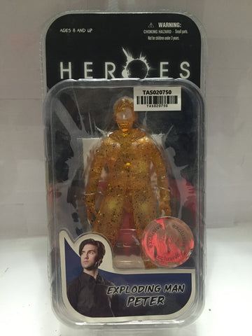 (TAS020750) - Mezco NBC - Heroes - Exploding Man Peter, , Action Figure, n/a, The Angry Spider Vintage Toys & Collectibles Store  - 1
