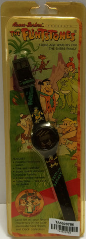 (TAS020786) - 1991 Hanna-Barbera The Flintstones Stone Age Watch - Fred and Barn, , Watches, Clocks, Timepieces, Flintstones, The Angry Spider Vintage Toys & Collectibles Store  - 1