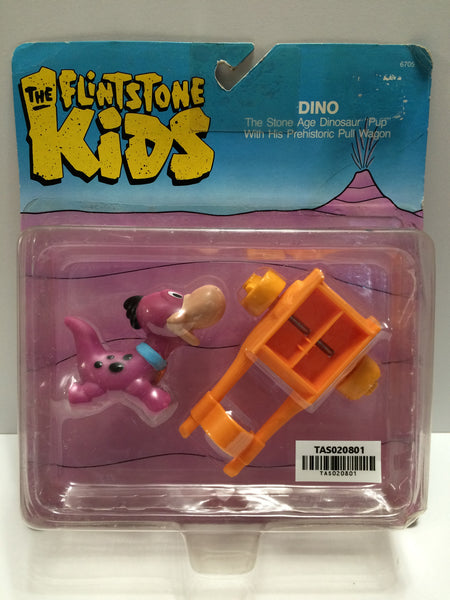 (TAS020801) - 1986 Coleco The Flintstones Kids - Dino Dinosaur Pup, , Action Figure, Flintstones, The Angry Spider Vintage Toys & Collectibles Store  - 1