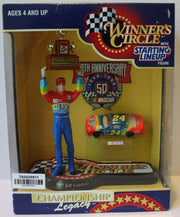 (TAS020811) - 1997 Starting Lineup Winner's Circle NASCAR - Jeff Gordon, , Action Figure, Starting Lineup, The Angry Spider Vintage Toys & Collectibles Store  - 1