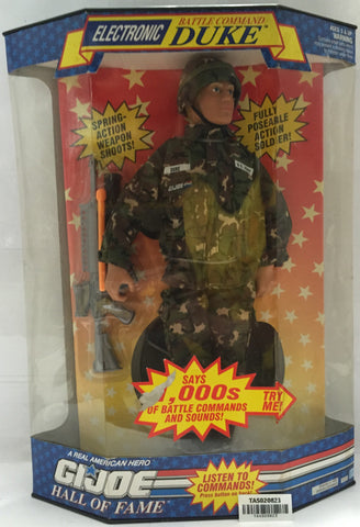 (TAS020823) - 1992 Hasbro G.I. Joe Hall of Fame - Electronic Battle Command Duke, , Action Figure, G.I. Joe, The Angry Spider Vintage Toys & Collectibles Store  - 1