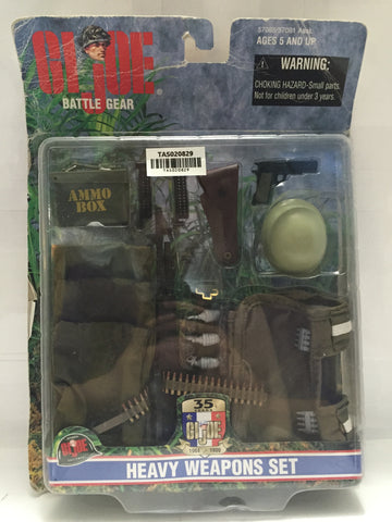 (TAS020829) - 1998 Hasbro G.I. Joe Battle Gear Heavy Weapons Set, , Action Figure, G.I. Joe, The Angry Spider Vintage Toys & Collectibles Store  - 1