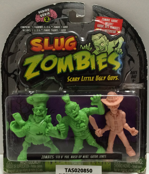 (TAS020850) - 2012 Jakks S.L.U.G. Zombies - Stu B' You, Mash-Up Mike, Gator Jone, , Action Figure, JAKKS Pacific, The Angry Spider Vintage Toys & Collectibles Store  - 1