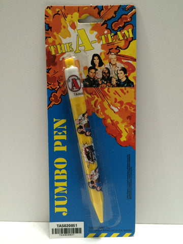 (TAS020851) - 1983 The A-Team Jumbo Pen, , Pen, The A-Team, The Angry Spider Vintage Toys & Collectibles Store  - 1