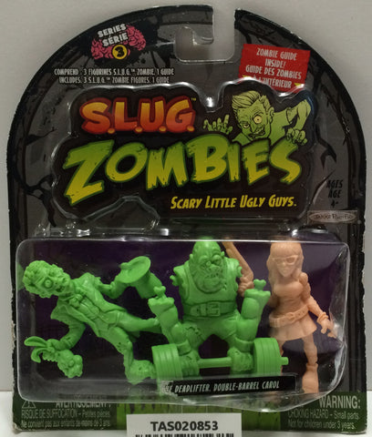 (TAS020853) - 2012 Jakks S.L.U.G. Zombies - Deadlifter, Double-Barrel Carol, , Action Figure, JAKKS Pacific, The Angry Spider Vintage Toys & Collectibles Store  - 1