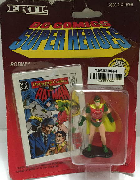 (TAS020864) - 1990 ERTL DC Comics Superheroes DieCast  Batman - Robin, , Action Figure, Ertl, The Angry Spider Vintage Toys & Collectibles Store  - 1