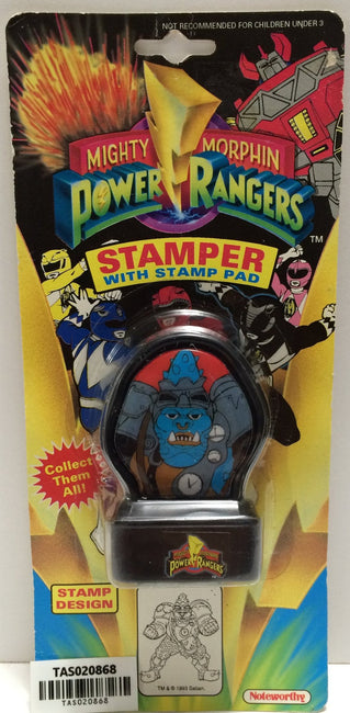 (TAS020868) - 1993 Mighty Morphin Power Rangers Stamper - Squatt, , Stampers, Power Rangers, The Angry Spider Vintage Toys & Collectibles Store  - 1