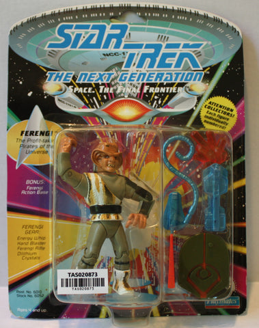 "(TAS020873) - Playmates Star Trek: The Next Generation ""Ferengi"" 1992, , Action Figure, Star Trek, The Angry Spider Vintage Toys & Collectibles Store  - 1"