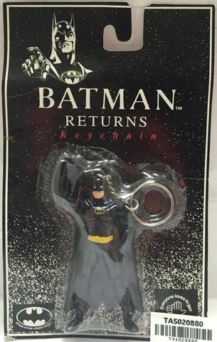 (TAS020880) - 1992 DC Comics Applause Batman Returns Keychain, , Keychain, Batman, The Angry Spider Vintage Toys & Collectibles Store  - 1