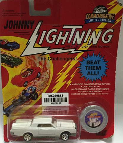 (TAS020888) - 1995 Johnny Lightning The Challengers! White Lightning, , Trucks & Cars, Johnny Lightning, The Angry Spider Vintage Toys & Collectibles Store  - 1