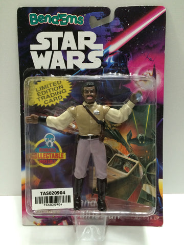 (TAS020904) - 1994 Just Toys Bend-Ems Star Wars - Lando Calrissian, , Action Figure, Star Wars, The Angry Spider Vintage Toys & Collectibles Store  - 1