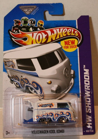 (TAS020914) - HW Showroom 2013 - Volkswagen Kool Kombi - 169/250, , Cars, Hot Wheels, The Angry Spider Vintage Toys & Collectibles Store  - 1