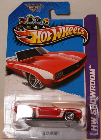 (TAS020918) - HW Showroom 2013 - '69 Camaro - 197/250, , Cars, Hot Wheels, The Angry Spider Vintage Toys & Collectibles Store  - 1