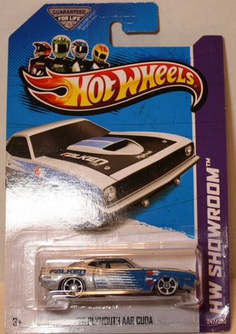 (TAS020925) - HW Showroom 2013 - '70 Plymouth AAR Cuda - 247/250, , Cars, Hot Wheels, The Angry Spider Vintage Toys & Collectibles Store  - 1
