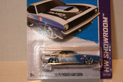 (TAS020925) - HW Showroom 2013 - '70 Plymouth AAR Cuda - 247/250, , Cars, Hot Wheels, The Angry Spider Vintage Toys & Collectibles Store  - 2