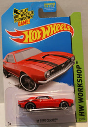 (TAS020934) - HW Workshop 2014 - '68 Copo Camaro Red - 224/250 - The Angry Spider Vintage Toys & Collectibles Store  - 1