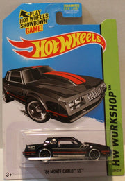(TAS020945) - HW Workshop 2015 - '86 Monte Carlo SS - 230/250, , Cars, Hot Wheels, The Angry Spider Vintage Toys & Collectibles Store  - 1