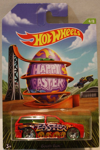 (TAS020950) - Hot Wheels Happy Easter 2014 - Boom Box - 4/8, , Cars, Hot Wheels, The Angry Spider Vintage Toys & Collectibles Store  - 1
