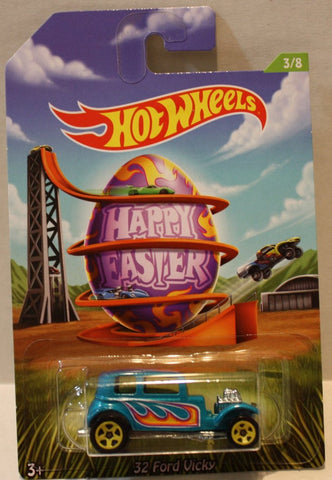 (TAS020951) - Hot Wheels Happy Easter 2014 - 32 Ford Vicky - 3/8, , Cars, Hot Wheels, The Angry Spider Vintage Toys & Collectibles Store  - 1
