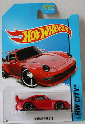 (TAS020964) - HW City 2014 - Porsche 993 GT2 - 27/250, , Cars, Hot Wheels, The Angry Spider Vintage Toys & Collectibles Store  - 1