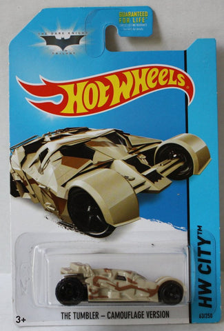 (TAS020967) - HW City 2014 - The Tumbler - Camouflage Version - 63/250, , Cars, Hot Wheels, The Angry Spider Vintage Toys & Collectibles Store  - 1