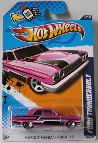 (TAS020995) - HW Muscle Mania Ford '12 - Ford Thunderbolt - 85/247, , Cars, Hot Wheels, The Angry Spider Vintage Toys & Collectibles Store  - 1