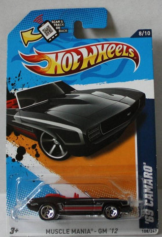 (TAS020997) - HW Muscle Mania GM '12 - '69 Camaro, , Cars, Hot Wheels, The Angry Spider Vintage Toys & Collectibles Store  - 1