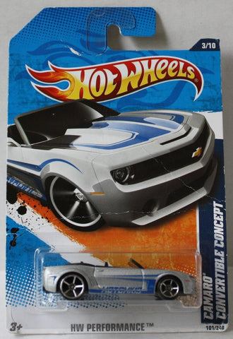 (TAS021002) - HW Performance - Camaro Convertible Concept, , Cars, Hot Wheels, The Angry Spider Vintage Toys & Collectibles Store  - 1