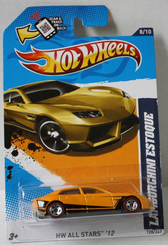 (TAS021003) - HW All Stars '12 - Lamborghini Estoque - 128/247, , Cars, Hot Wheels, The Angry Spider Vintage Toys & Collectibles Store  - 1