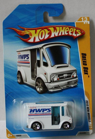 (TAS021004) - Hot Wheels 2010 New Models - Bread Box White - 13/240, , Cars, Hot Wheels, The Angry Spider Vintage Toys & Collectibles Store  - 1