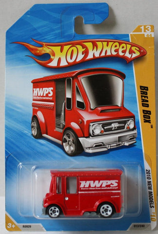 (TAS021005) - Hot Wheels 2010 New Models - Bread Box Red - 13/240, , Cars, Hot Wheels, The Angry Spider Vintage Toys & Collectibles Store  - 1