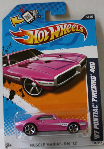 (TAS021006) - Muscle Mania GM '12 - '67 Pontiac Firebird 400 - 105/247, , Cars, Hot Wheels, The Angry Spider Vintage Toys & Collectibles Store  - 1