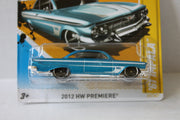 (TAS021010) - 2012 HW Premiere - '61 Impala - 37/247, , Cars, Hot Wheels, The Angry Spider Vintage Toys & Collectibles Store  - 2