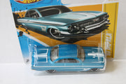 (TAS021010) - 2012 HW Premiere - '61 Impala - 37/247, , Cars, Hot Wheels, The Angry Spider Vintage Toys & Collectibles Store  - 3