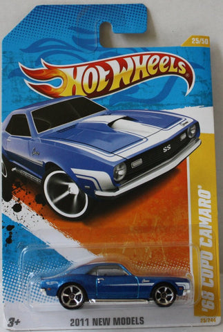 (TAS021015) - 2011 New Models - '68 Copo Camaro - 25/244, , Cars, Hot Wheels, The Angry Spider Vintage Toys & Collectibles Store  - 1