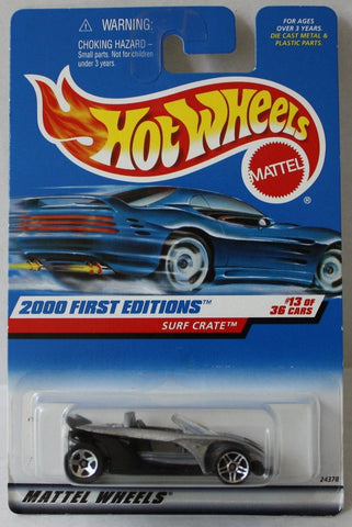 (TAS021034) - Hot Wheels 2000 First Editions - Surf Crate - 13/36, , Cars, Hot Wheels, The Angry Spider Vintage Toys & Collectibles Store  - 1