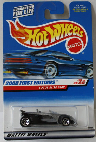 (TAS021035) - Hot Wheels 2000 First Editions - Lotus Elise 340R - 15/36, , Cars, Hot Wheels, The Angry Spider Vintage Toys & Collectibles Store  - 1