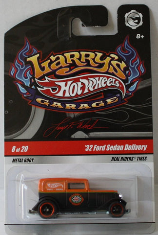 (TAS021037) - Hot Wheels Larry's Garage - '32 Ford Sedan Delivery - 8/20, , Cars, Hot Wheels, The Angry Spider Vintage Toys & Collectibles Store  - 1