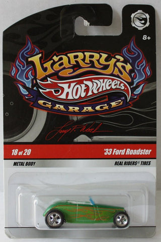 (TAS021038) - Hot Wheels Larry's Garage - 33 Ford Roadster - 18/20, , Cars, Hot Wheels, The Angry Spider Vintage Toys & Collectibles Store  - 1