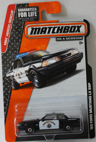 (TAS021041) - Matchbox '93 Ford Mustang LX SSP, , Cars, Matchbox, The Angry Spider Vintage Toys & Collectibles Store  - 1