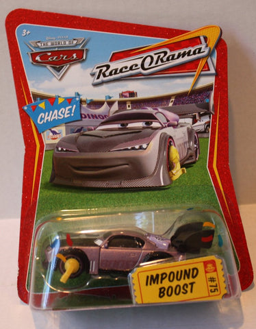(TAS021051) - Disney/Pixar CARS Race-O-Rama Series Impound Boost #75, , Cars, Mattel, The Angry Spider Vintage Toys & Collectibles Store  - 1