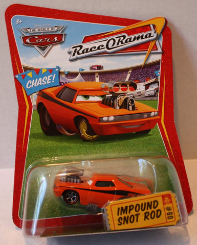 (TAS021052) - Disney/Pixar CARS Race-O-Rama Series Impound Snot Rod #80, , Cars, Mattel, The Angry Spider Vintage Toys & Collectibles Store  - 1