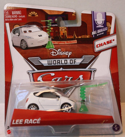 (TAS021060) - Disney/Pixar CARS Chase - Lee Race, , Cars, Mattel, The Angry Spider Vintage Toys & Collectibles Store  - 1