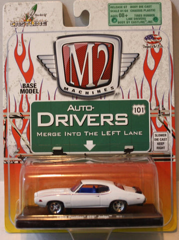 (TAS021065) - M2 Machines 1969 Pontiac GTO Judge, , Cars, M2 Machines, The Angry Spider Vintage Toys & Collectibles Store  - 1