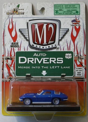 (TAS021066) - M2 Machines 1966 Chevrolet Corvette, , Cars, M2 Machines, The Angry Spider Vintage Toys & Collectibles Store  - 1